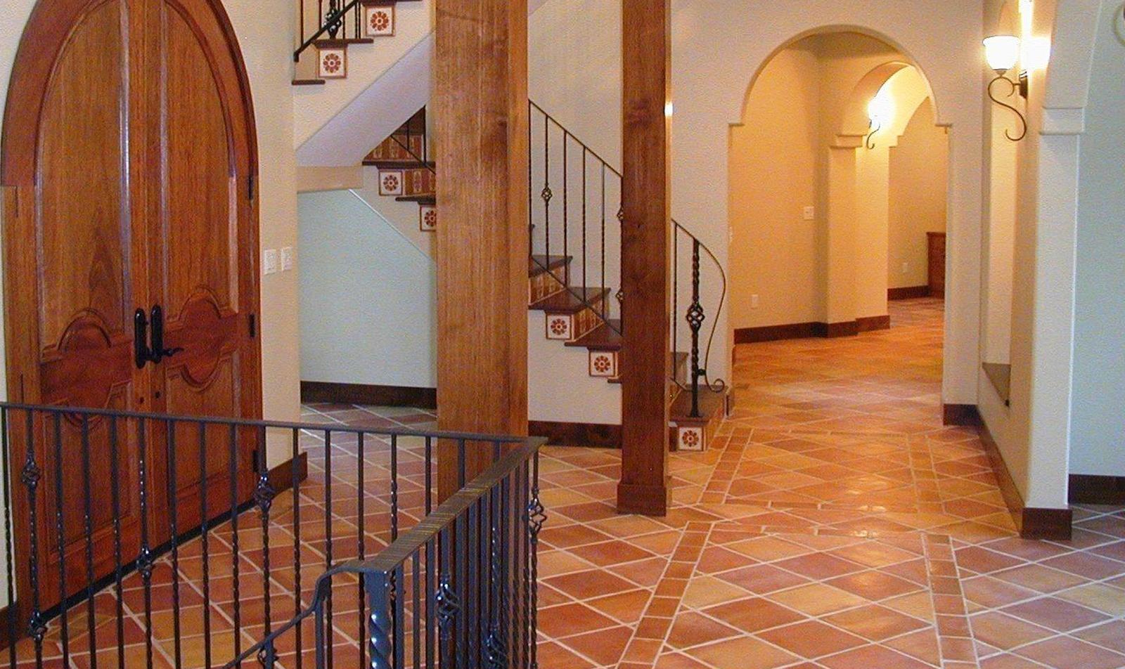 Extraordinary 20 Terra Cotta Tile Garden Interior Design